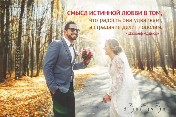 Цитата о любви и радости