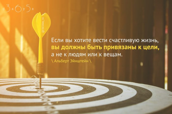 Цитата о цели