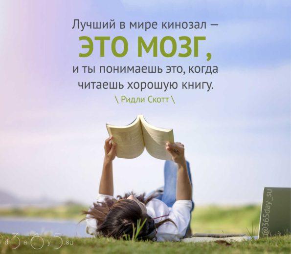 Цитата о чтении